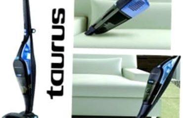 Aspirador escoba taurus crossback 29.6 lithium, 60min, turbo, eco